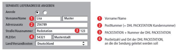 Anleitung-Packstation